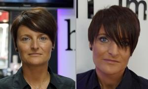 FemNews.de - Beauty Serie - Festliche Kurzhaarfrisur und dezentes Make-up - Nicole