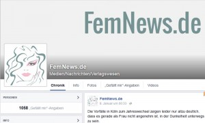 FemNews.de auf Facebook