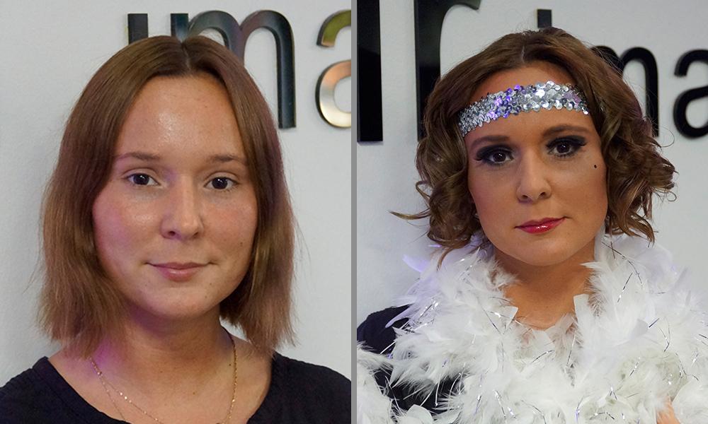 Beauty Serie Karnevalsfrisur 20er Jahre Femnewsde