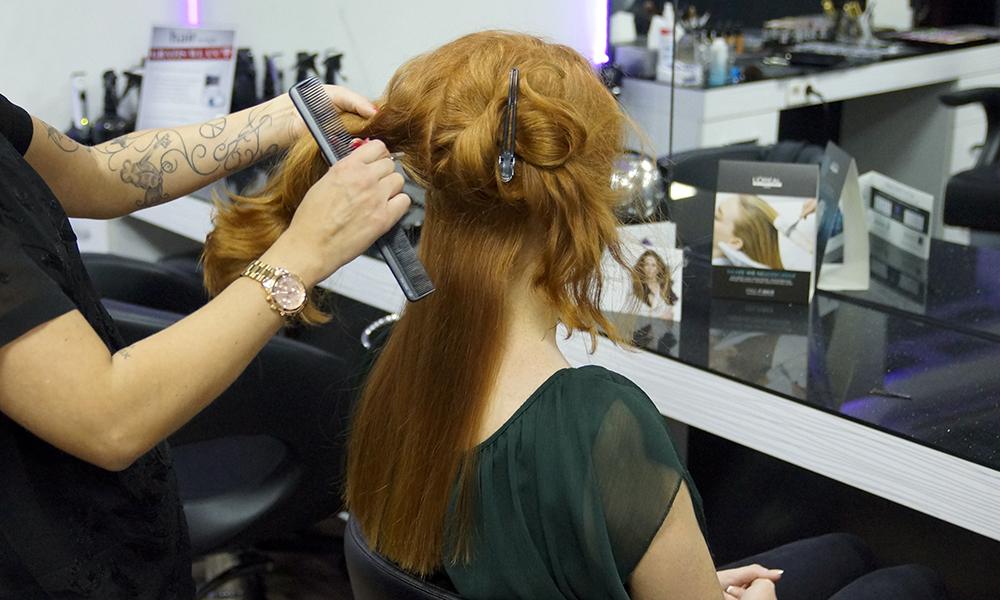 Frisuren lange haare weihnachten