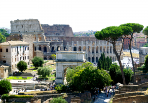 Das Forum Romanum. Du kannst die geballte Geschichte dieses Ortes beinahe spüren. - Foto:ready4FotoDesign.de für FemNews.de