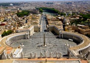 Die Aussicht von der Kuppel des Petersdoms ist phänomenal. - Foto:ready4FotoDesign.de für FemNews.de