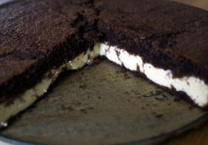 Mahlzeit - Dreh-Dich-Um-Kuchen - Beim fertigen Kuchen ist die Schokoschicht plötzlich oben - FemNews.de