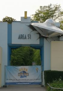 FemNews.de - Familycheck: Movie Park Germany in Bottrop - Area 51