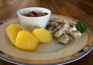 Mahlzeit - Schweinegeschnetzeltes in Senf-Sauce - Geschnetzeltes mal anders! - FemNews.de