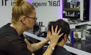 Beauty-Serie - Kurzhaarfrisuren: Silvester-Frisuren für kurze Haare - Angelika 07 - FemNews.de