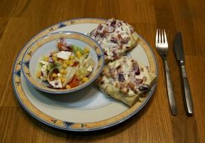 Mahlzeit - Rezept - Flammkuchen Baguette 04- FemNews.de