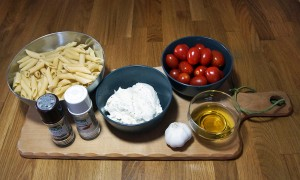 Mahlzeit - Rezept - Nudeln in Frischkäse und marinierten Tomaten - FemNews.de