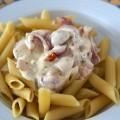 Mahlzeit - Rezept - Nudeln in Frischkäse und marinierten Tomaten 06 - FemNews.de
