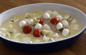 Mahlzeit - Mozzarella-Hähnchen - Die Zubereitung 2 - FemNews.de