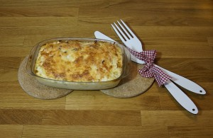 Mahlzeit - Kartoffel-Lachs-Gratin - FemNews.de