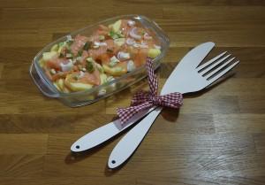 Mahlzeit - Kartoffel-Lachs-Gratin: Die Zubereitung - FemNews.de