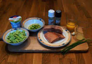 Mahlzeit - Rezept - Lachsfilet mit Wasabi-Sauce - Die Zutaten - FemNews.de