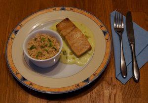Mahlzeit - Rezept - Lachsfilet mit Wasabi-Sauce - schmeckt gut - FemNews.de