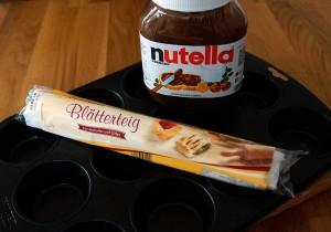 Mahlzeit - Rezepte - Nutella-Muffins - Die Zutaten - FemNews.de - 01