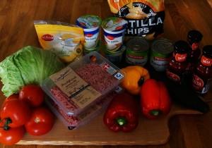 Mahlzeit - Rezepte - Taco Salat - Die Zutaten - FemNews.de