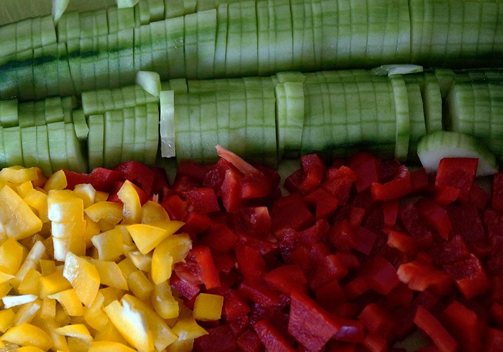 moderne rezepte salat
