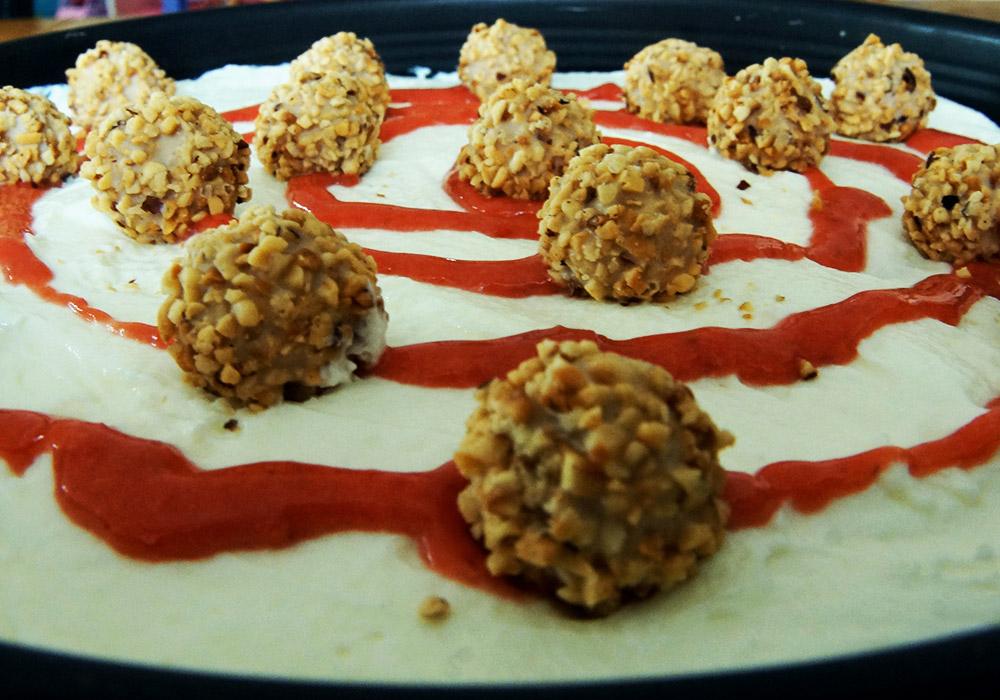 Mahlzeit Rezept Giotto Torte Kuhlschranktorte