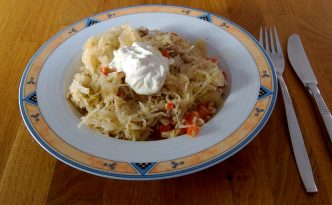 Mahlzeit - Rezept - Sauerkraut-Paprika-Pfanne - Schnell zubereitet - FemNews.de