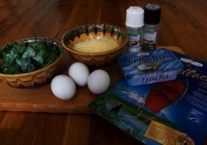 Mahlzeit - Rezept - Low Carb - Lachsrolle mit Frischkäse und Spinat - Zutaten - FemNews.de