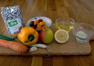 Mahlzeit - Rezept - Quinoa-Salat - Die Zutaten - FemNews.de