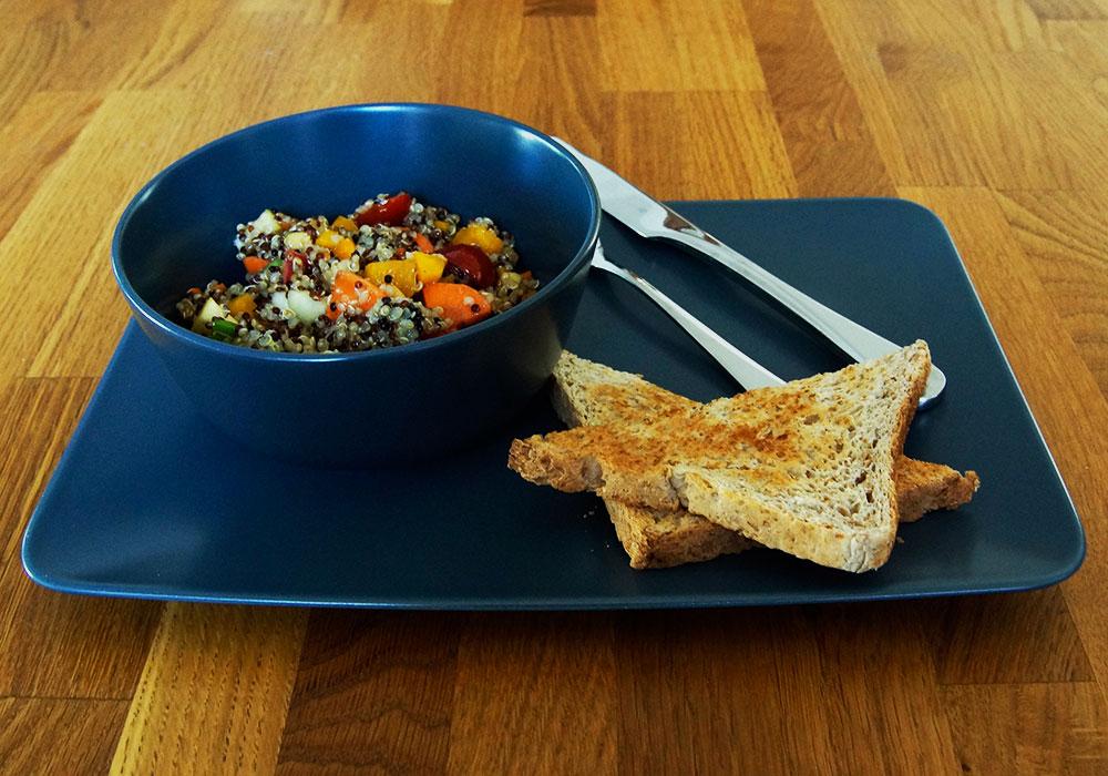 mahlzeit rezept quinoa salat. Black Bedroom Furniture Sets. Home Design Ideas